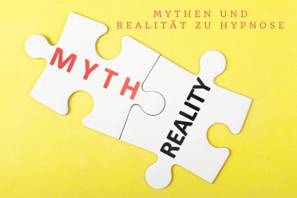 Zwei Puzzleteile Mythen und Realität